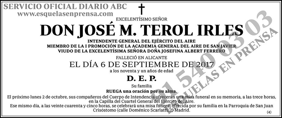 José M. Terol Irles